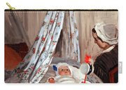 Monet's The Cradle -- Camille With Artist's Son Jean Carry-all Pouch