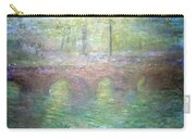 Monet's Waterloo Bridge In London At Dusk Carry-all Pouch