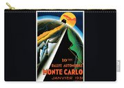 Monte Carlo Rallye Automobile Carry-all Pouch