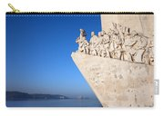 Monument To The Discoveries In Lisbon Carry-all Pouch