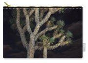 Moon Over Joshua - Joshua Tree National Park In California Carry-all Pouch