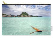 Moorea Woman Floating Carry-all Pouch