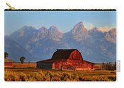 Mormon Row And The Grand Tetons  Carry-all Pouch