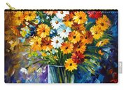 Morning Charm Carry-all Pouch by Leonid Afremov