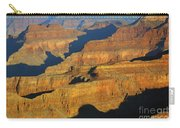 Morning Color And Shadow Play In Grand Canyon National Park Carry-all Pouch