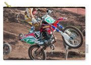 Motocross Rider Carry-all Pouch