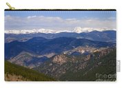 Mount Evans And Continental Divide Carry-all Pouch