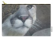Mountain Lion Painterly Carry-all Pouch