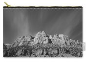 Mountain Peaks And Shimmering Sky Carry-all Pouch