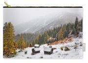 Mountain With Snow Carry-all Pouch