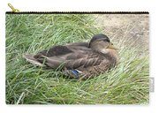 Ms Mallard Carry-all Pouch