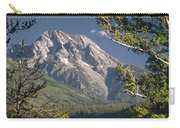 Mt. Moran And Jenny Lake Carry-all Pouch
