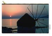 Mykonos Island Greece Carry-all Pouch