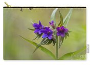 Purple Gromwell Carry-all Pouch