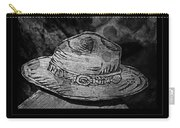 National Park Service Ranger Hat Black And White Carry-all Pouch
