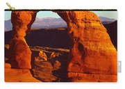 Natural Arch In A Desert, Delicate Carry-all Pouch