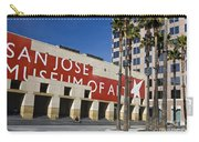 New Wing Of The San Jose Museum Of Art Carry-all Pouch
