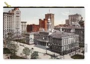 New York City Hall 1900 Carry-all Pouch