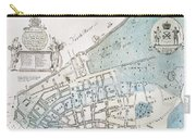 New York City Map, 1728 Carry-all Pouch