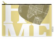 New York Map Home Heart - New York City New Yorkroad Map In A He Carry-all Pouch
