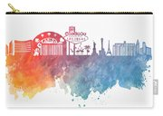 Las Vegas Skyline Colored Carry-all Pouch