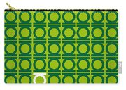No120 My Green Lantern Minimal Movie Poster Carry-all Pouch by Chungkong Art
