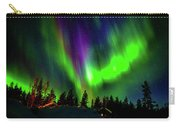 Northern Lights, Lapland, Sweden Carry-all Pouch