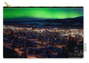 Northern Lights Over Whitehorse Carry-all Pouch