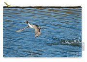 Northern Pintail Drake Taking Carry-all Pouch