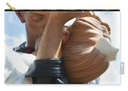 Nurse And Sailor Kissing Statue Unconditional Surrender Closeup  Carry-all Pouch