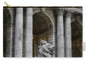 Ny Library Lion Carry-all Pouch