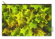 Oak Leaf Background Carry-all Pouch