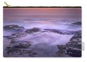 Ocean And Lava Rocks At Sunset Puuhonua Carry-all Pouch