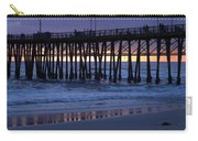 Oceanside Pier Sunset Carry-all Pouch