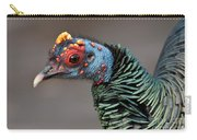 Ocellated Turkey Portrait Carry-all Pouch