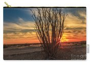 Ocotillo Sunset Carry-all Pouch
