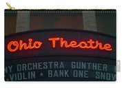 Ohio Theater Marquee Theater Sign Carry-all Pouch
