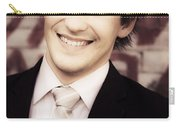 Old Fashion Business Service With A Smile Carry-all Pouch