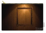 Old Frame On Retro Wall Carry-all Pouch