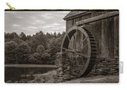 Old Grist Mill Vermont Carry-all Pouch by Edward Fielding