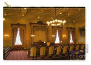 Old House Of Delegates Room Of The Maryland State House Carry-all Pouch