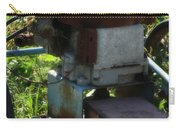 Old Junky Lawn Mower Carry-all Pouch