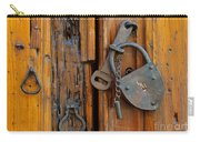 Old Lock, Mexico Carry-all Pouch