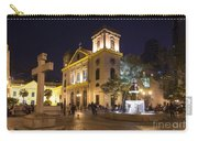 Old Portuguese Colonial Church In Macau Macao China Carry-all Pouch