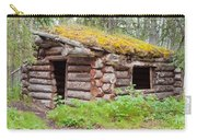 Old Traditional Log Cabin Rotting In Yukon Taiga Carry-all Pouch