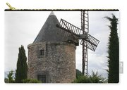 Old Provencal Windmill Carry-all Pouch