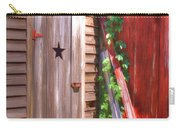 Old Wooden Door Carry-all Pouch