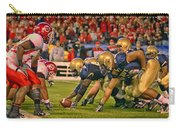 On The Goal Line - Notre Dame Vs Utah Carry-all Pouch
