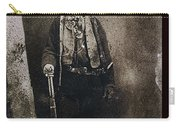 Only Authenticated Photo Of Billy The Kid Ft. Sumner New Mexico C.1879-2013 Carry-all Pouch