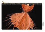 1 Orange Ballerina Carry-all Pouch